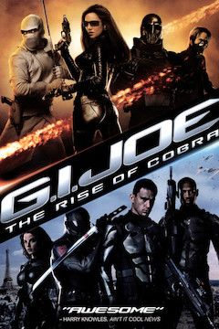 G.I. Joe: The Rise of Cobra movie poster.