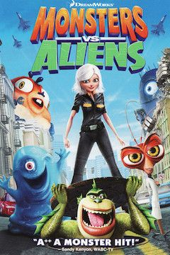 Poster for the movie Monsters vs. Aliens