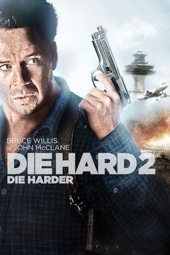 Die Hard II: Die Harder movie poster.
