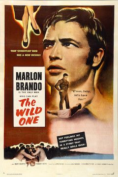 The Wild One movie poster.