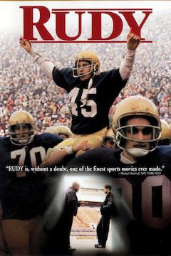 Rudy movie poster.