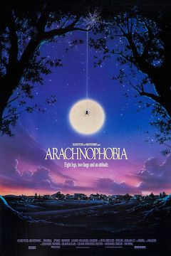 Poster for the movie Arachnophobia