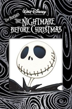 The Nightmare Before Christmas movie poster.