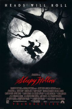 Sleepy Hollow movie poster.