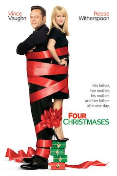 Four Christmases movie poster.