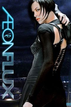 Aeon Flux movie poster.