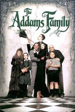The Addams Family movie poster.