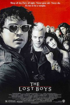 Poster for the movie The Lost Boys