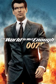 The World Is Not Enough movie poster.