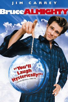 Poster for the movie Bruce Almighty