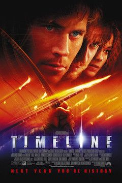 Poster for the movie Timeline