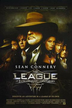The League of Extraordinary Gentlemen movie poster.