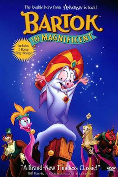 Bartok the Magnificent movie poster.