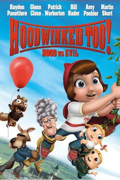 Poster for the movie Hoodwinked Too! Hood vs. Evil