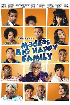 Madea's Big Happy Family movie poster.