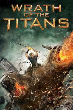 Wrath of the Titans movie poster.