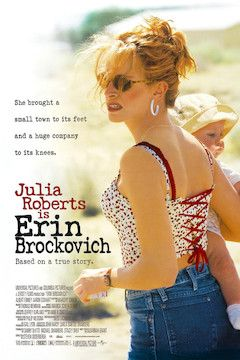 Erin Brockovich movie poster.