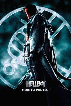 Poster for the movie Hellboy