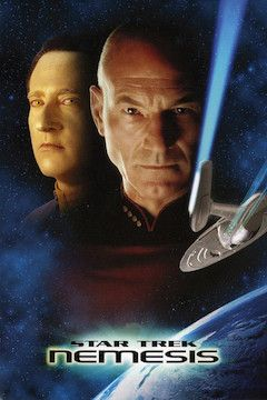 Star Trek: Nemesis movie poster.