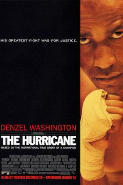 The Hurricane movie poster.