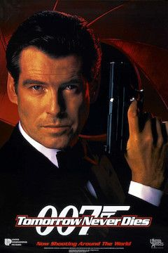 Tomorrow Never Dies movie poster.