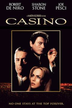Casino movie poster.