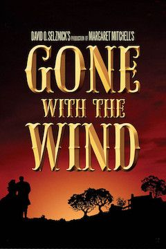 Gone With the Wind movie poster.