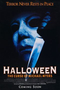 Halloween: The Curse of Michael Myers movie poster.