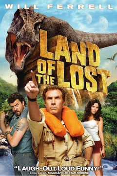 Land of the Lost movie poster.