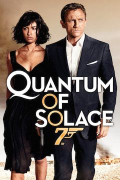 Poster for the movie Quantum of Solace