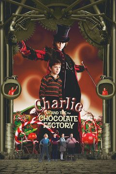Charlie and the Chocolate Factory movie poster.