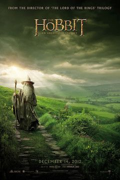 The Hobbit: An Unexpected Journey movie poster.