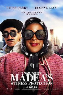 Madea's Witness Protection movie poster.