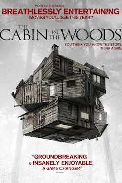 The Cabin in the Woods movie poster.