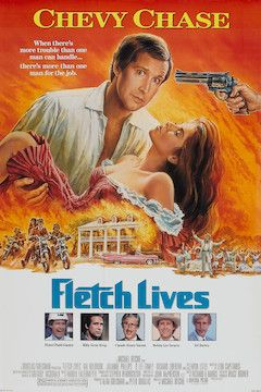Fletch Lives movie poster.