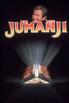 Jumanji movie poster.