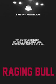 Raging Bull movie poster.