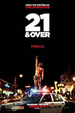 21 and Over movie poster.