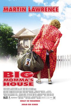 Big Momma's House movie poster.