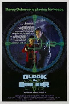 Cloak and Dagger movie poster.