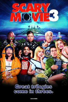 Poster for the movie Scary Movie 3