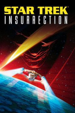 Star Trek: Insurrection movie poster.