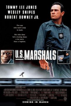 U.S. Marshals movie poster.