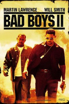 Bad Boys II movie poster.