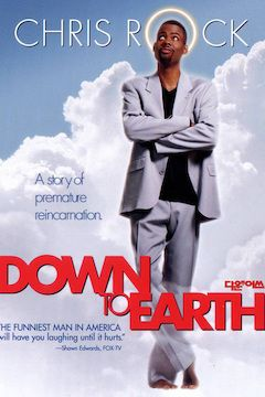 Down to Earth movie poster.