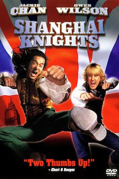 Shanghai Knights movie poster.