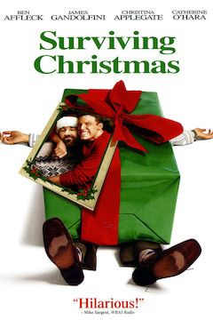 Surviving Christmas movie poster.