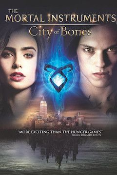 Poster for the movie The Mortal Instruments: City of Bones