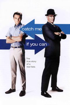 Catch Me If You Can movie poster.