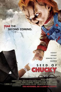 Seed of Chucky movie poster.